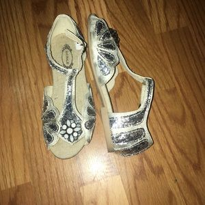 Joyfolie Mari Sparkle Sandals Girls Size 1